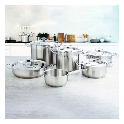 Casserole with Lid Quid Azzero Stainless steel