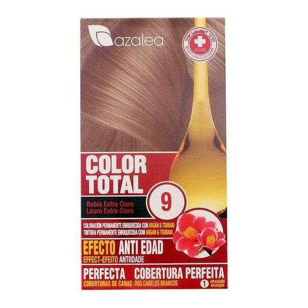 Permanent Anti-Ageing Dye Azalea Bright blonde