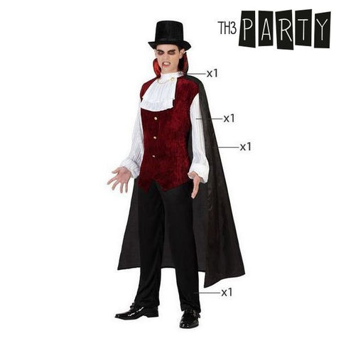 Costume for Adults Vampire (4 Pcs)