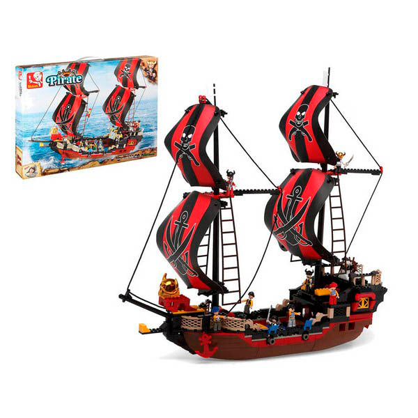 Bateau Pirate Junior Knows 7073 (632 pcs) BigBuy Fun
