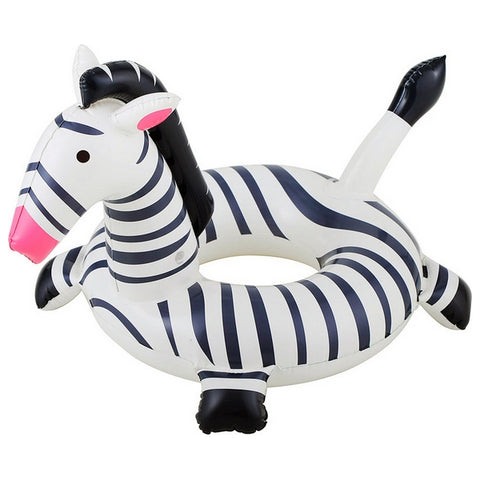 Inflatable Pool Float Zebra 114204 (ø 61 cm)