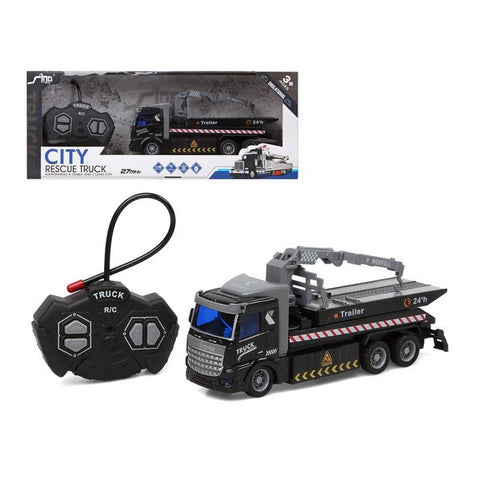 Radio-controlled Truck City Rescue Black