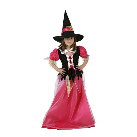 Costume for Children Witch Pink (2 Pcs)