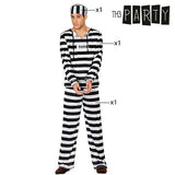 Costume for Adults 9486 Male prisoner