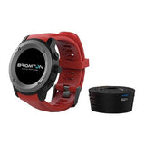 "Smartwatch BRIGMTON BWATCH-100GPS-R 1,3"" LCD Bluetooth Red"