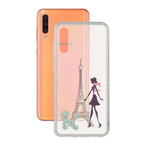 Mobile cover Samsung Galaxy A30s/a40/a50 Contact Flex France TPU