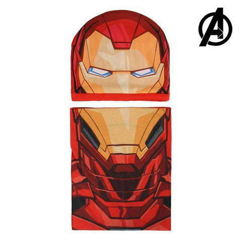 Hat and Neck Warmer The Avengers 01020