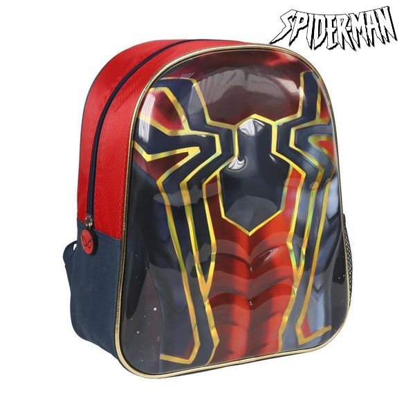3D Child bag Spiderman Red