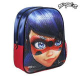 3D Child bag Lady Bug Blue