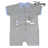 Baby's Short-sleeved Romper Suit Disney Grey