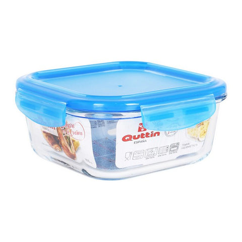Hermetic Lunch Box Quttin Squared Crystal Blue