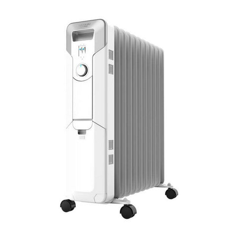 Oil-filled Radiator (11 chamber) Cecotec Ready Warm 5700 Space 2500W White