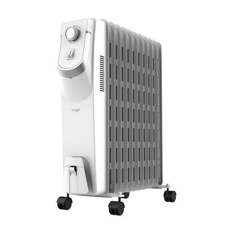 Oil-filled Radiator (11 chamber) Cecotec Ready Warm 5850 Space 360º 2500W White