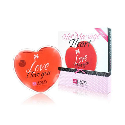 Massage Chaud Coeur XL Amour LoversPremium E22030
