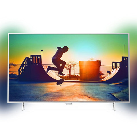 "TV intelligente Philips 32PFS6402/12 32"" Full HD LED Ultra Slim Argenté"