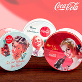 Coca-Cola Retro Round Metal Box