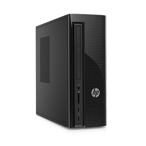 PC de bureau HP 260-A111NS A8-7410 8 GB RAM 1 TB Windows 10 Noir