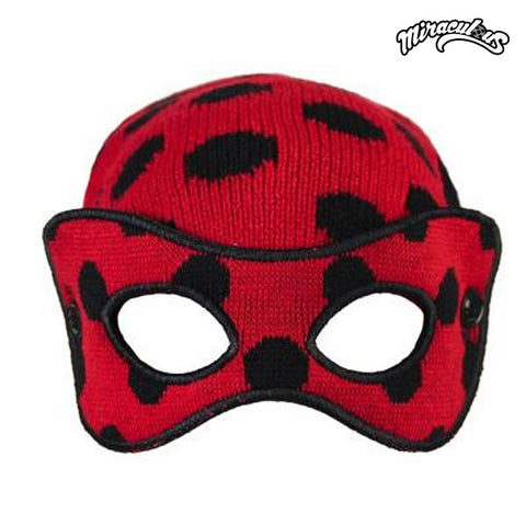 Child Hat with Mask Lady Bug 515