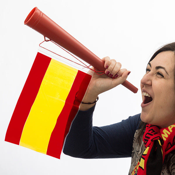 Spanish Flag Stadium Horn