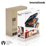 InnovaGoods Pizza Box Presto! with Recipe Book 1200W Black