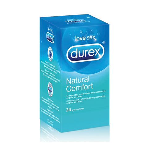Durex Natural Plus Condoms (24 Units)