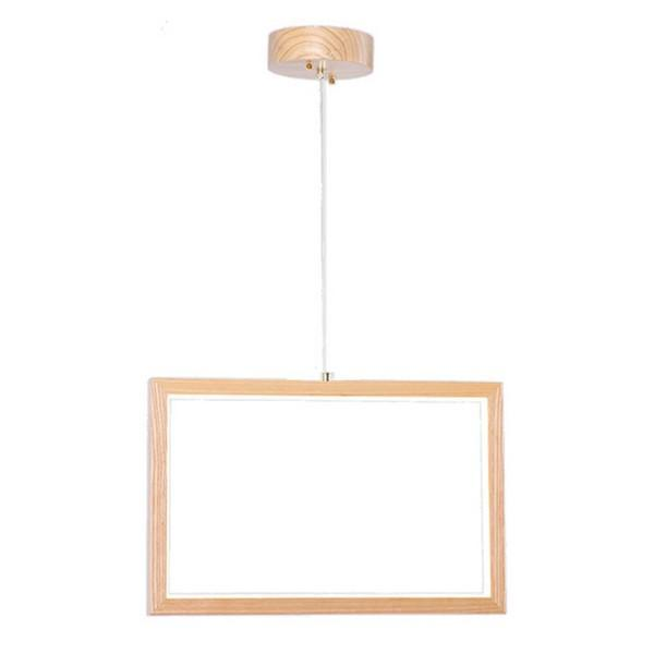 BigBuy Home Suspension Bois de pin