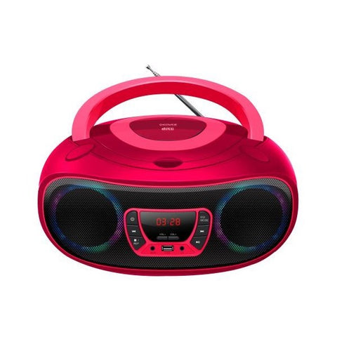 Radio CD Bluetooth MP3 Denver Electronics TCL-212MT 4W Pink