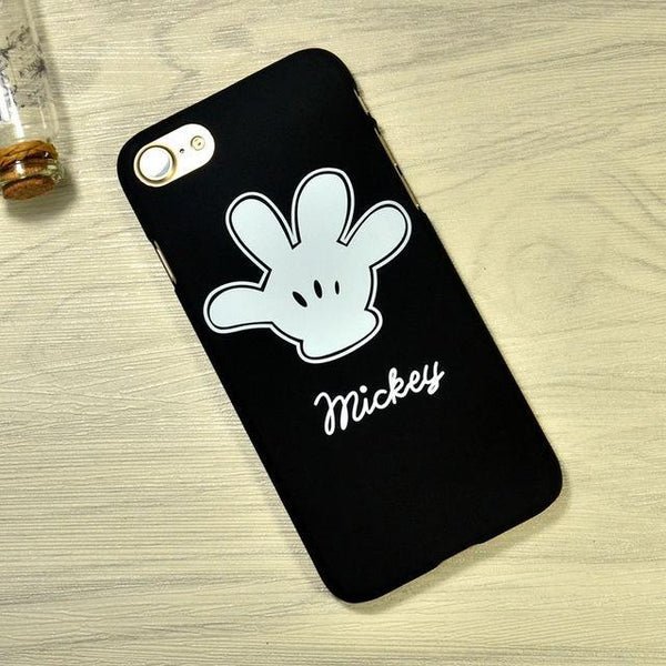 Point d'achat BLACK / iphone 5 5s SE Luxury Mickey Minnie Coque Iphone
