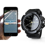 Montre Intelligente Connecté Sport Professional 5ATM  IOS & Android Noire Bleue
