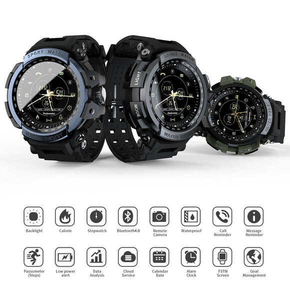 Montre Connectée Sport Professional 5ATM IOS & Android