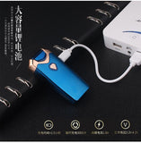 Sanqiao Store Cigarette Accessories Briquet Electrique Double Arc  USB