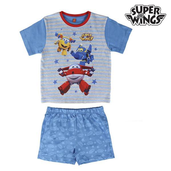 Super Wings Pyjama d'Été pour Enfants Super Wings