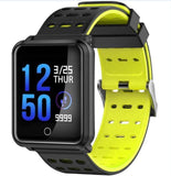 YiSailing Factory Store Montres intelligentes black  yellow Montre Connectée Willful Bluetooth 4.2 Étanche Iphone et Android
