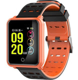 YiSailing Factory Store Montres intelligentes orange black Montre Connectée Willful Bluetooth 4.2 Étanche Iphone et Android