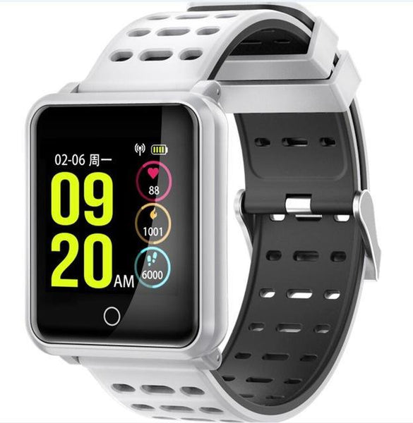 YiSailing Factory Store Montres intelligentes white Montre Connectée Willful Bluetooth 4.2 Étanche Iphone et Android