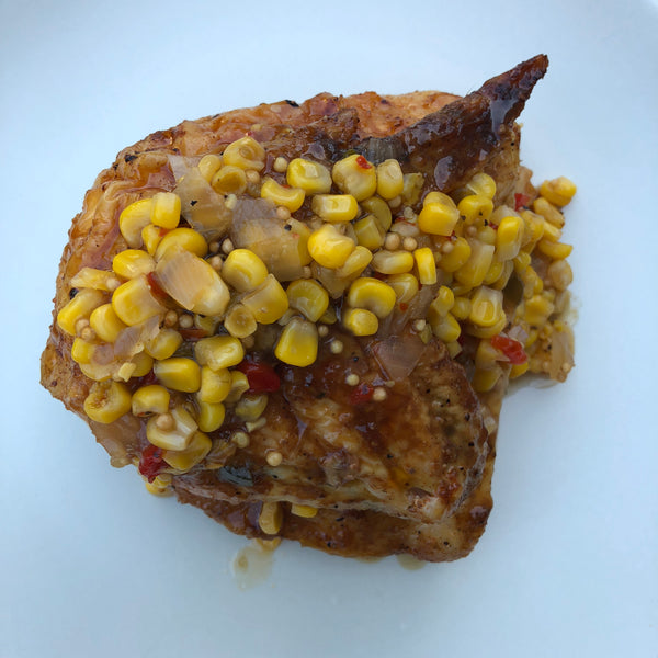 Chicken Corn Salsa