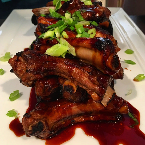 Honey Garlic Ribs