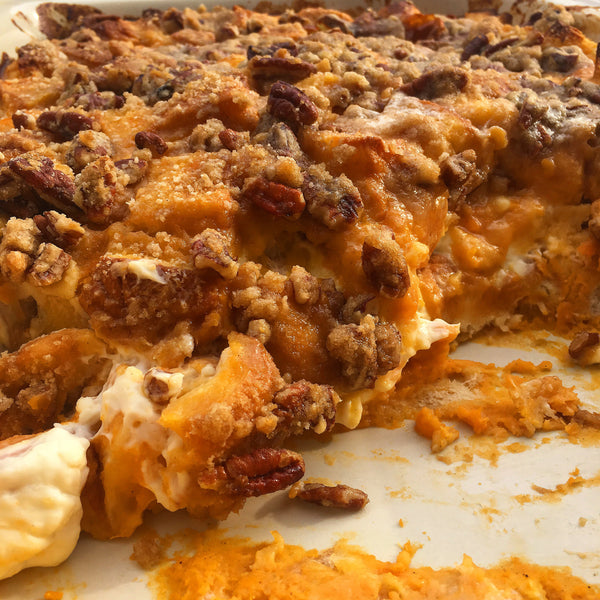 Sweet Potato French Toast Bake