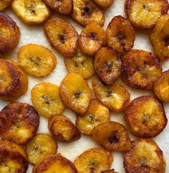 Sweet Fried Plantains (Maduros)