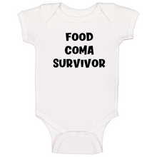 Food Coma Survivor Baby One Piece
