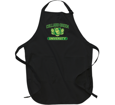 Collard Green University Apron
