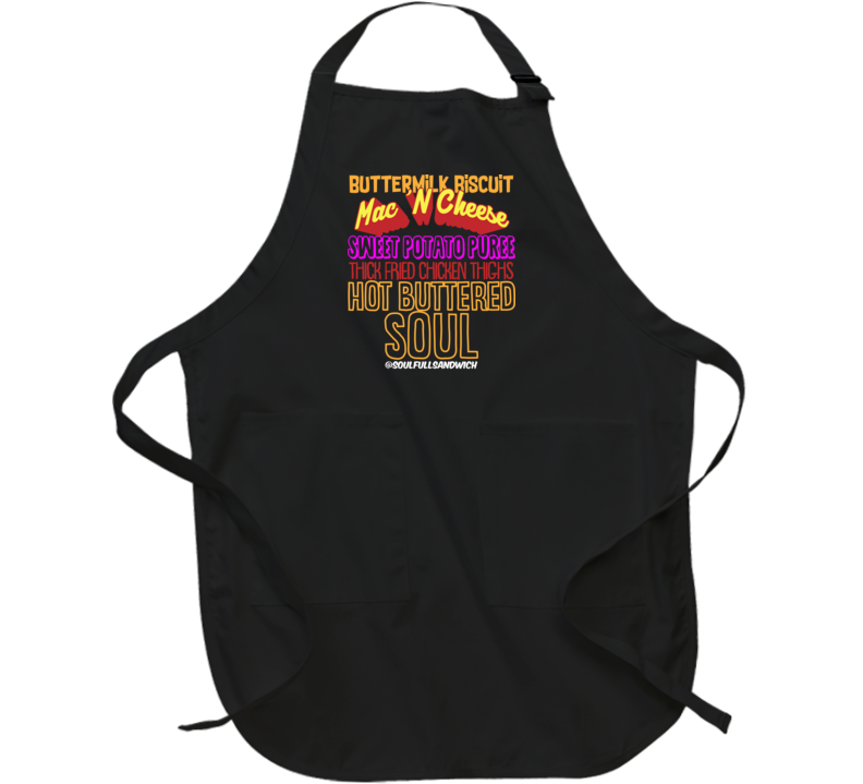 Hot Buttered Soul Recipe Apron