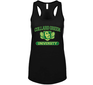 Collard Green University Ladies Tanktop
