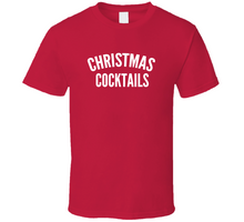 Christmas Cocktails Cool T Shirt