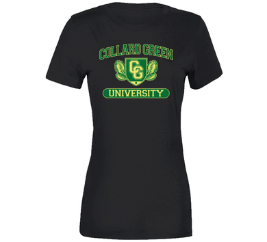 Collard Green University Ladies Premium T Shirt
