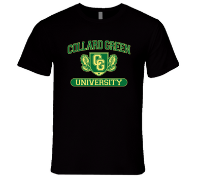Collard Green University Premium T Shirt