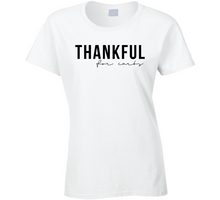 Thankful For Carbs Thanksgiving Day Holiday Gift Idea Fan T Shirt
