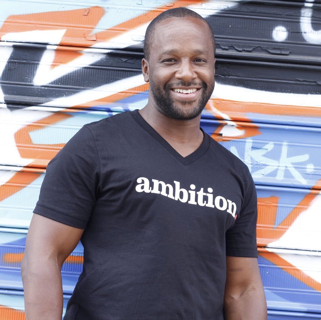 ambition. V-Neck T Shirt