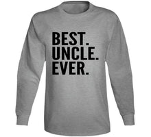 Best Uncle Ever Cool T Shirt