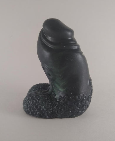 Bently the Big Horned Sheep, Size Mini (soft firmness) - Fantasy Sex Toy, [product type] - dildo, KuduVoodoo - KuduVoodoo